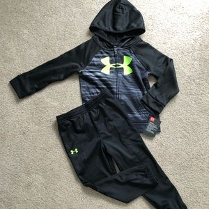 4T Under Armour Hoodie & Joggers NWT